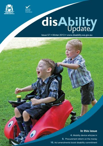 Winter 2013 - Disability Services Commission