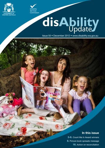 December 2012 - Disability Services Commission