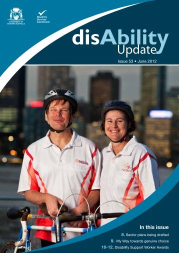 disAbility Update June 2012 - Disability Services Commission