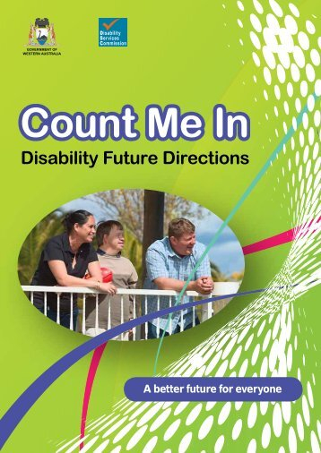 Count Me In - Disability Future Directions - Disability Services ...