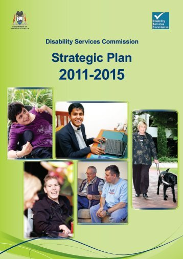 Strategic Plan - Disability Services Commission - The Western ...