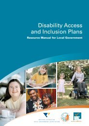 Disability Access and Inclusion Plans-Resource Manual for Local ...