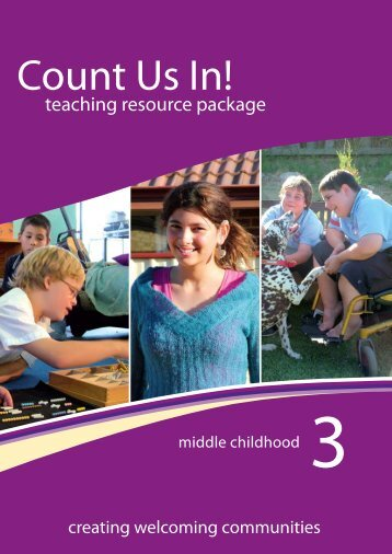 Booklet 3: middle childhood - Disability Services Commission
