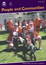 People and Communities autumn 2013 - Disability Services ...
