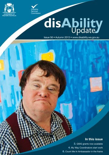 Autumn 2013 - Disability Services Commission