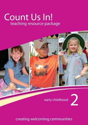 Booklet 2: early childhood - Disability Services Commission