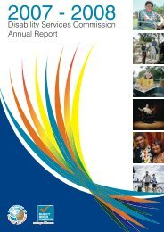 Disability Services Commission Annual Report