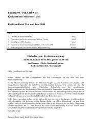 Kreisrundbrief Mai und Juni 2004 - Bündnis 90/Die Grünen ...