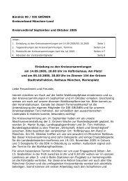 Kreisrundbrief September und Oktober 2005 - Bündnis 90/Die ...