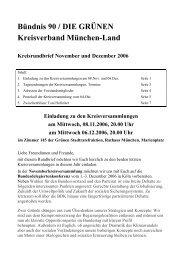 Kreisrundbrief November+Dezember 2006 - Bündnis 90/Die Grünen ...
