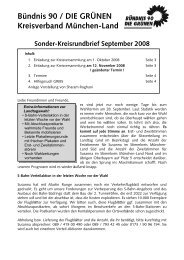 Sonder-Kreisrundbrief September 2008 - Bündnis 90/Die Grünen ...