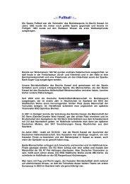..:: Fußball ::.. - BSV Kassel