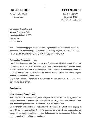 ULLER KOENIG 53539 KELBERG