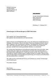 Grüne Kilchberg - BZO-Teilrevision - Einwendungen_def