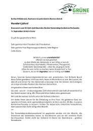 20090911 Rede Jubiläum Gemeindepräsidentenverband