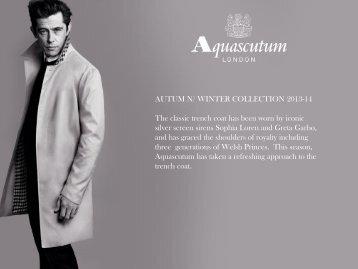 Aquascutum Autumn/Winter Collection 2013-14