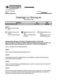 Anfrage Ausbau/Umbau/Neubau der Kaiserin-Theophanu-Schule in ...