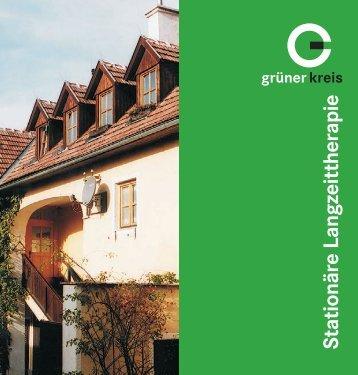 Stationäre Langzeittherapie - Grüner Kreis
