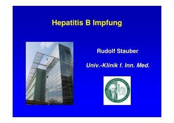 Hepatitis B Impfung