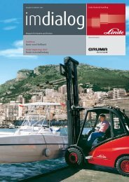 Yachtbau Boote vom Fließband Linde StaplerCup 2007 ... - Gruma