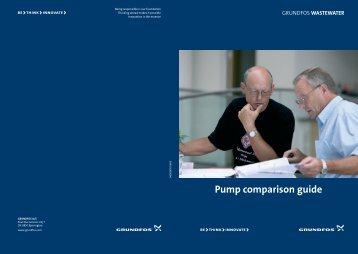 Pump comparison guide - Grundfos