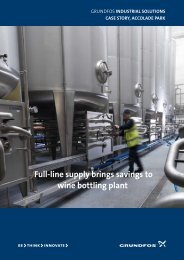 Download the 4-page brochure - Grundfos