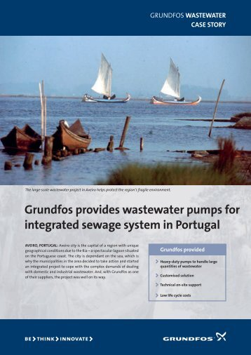 Grundfos provides wastewater pumps for integrated sewage system ...