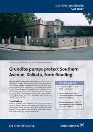 Grundfos provided