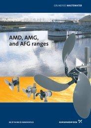 AMD, AMG, and AFG ranges - Grundfos