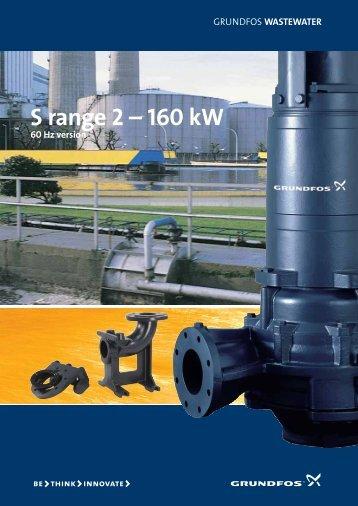 S range 2 – 160 kW - Grundfos