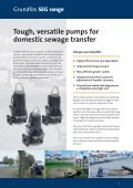 Submersible sewage grinder pumps - Grundfos - Page 2