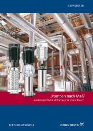 """Pumpen nach Maß"" - Grundfos"