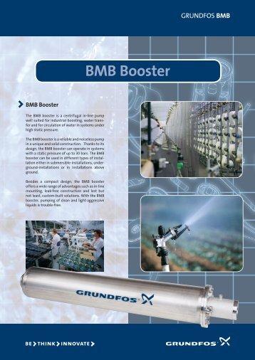 BMB Booster - Grundfos