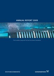 ANNUAL REPORT 2009 - Grundfos
