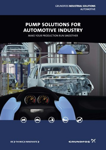 pump solutions for automotive industry - Grundfos