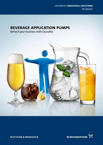 beverage application pumps - Grundfos