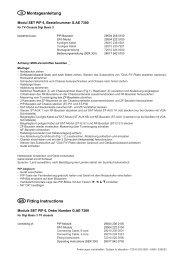 Montage PIP 6 - Grundig-info.de