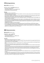 Montageanl. PIP 2 D/GB - Grundig-info.de