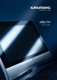 Programm 2007 - Grundig