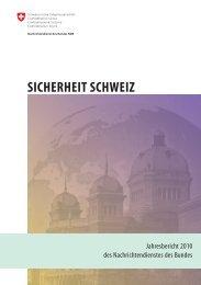 Sicherheit Schweiz - VBS - CH