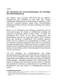 Zur Geschichte der Lernvoraussetzungen als Grundlage der ...