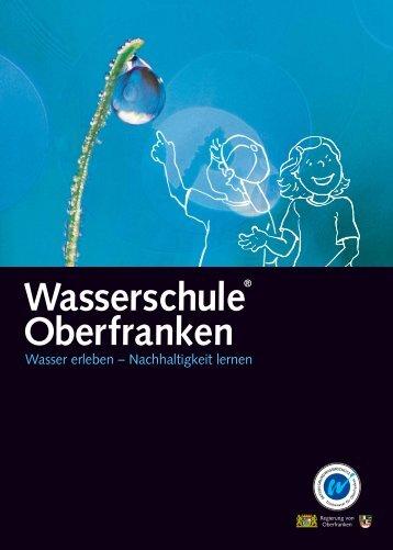 Schülerheft Wasserschule Oberfranken (PDF, 11,5 MB) - AKTION ...