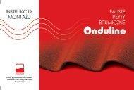 instrukcja montazu Onduline[2]. - Sklep Internetowy Onduline ...