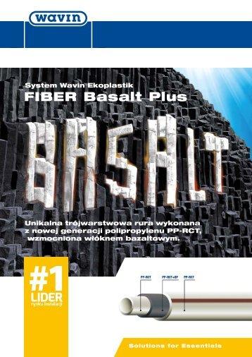 FIBER Basalt Plus - ulotka (pdf 1382 KB) - Grupa PSB