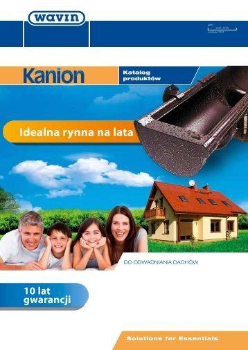 System rynnowy Kanion - Dach-Styl