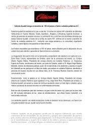 Caliente Ayuda otorga un donativo de 150 mil ... - Grupo Caliente