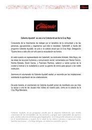 Colecta Cruz Roja 2012 - Grupo Caliente