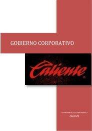 GOBIERNO CORPORATIVO - Grupo Caliente