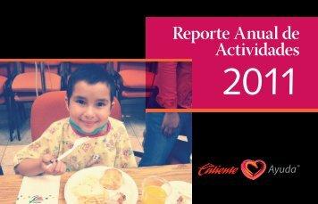 Reporte de Actividades 2011 - Grupo Caliente