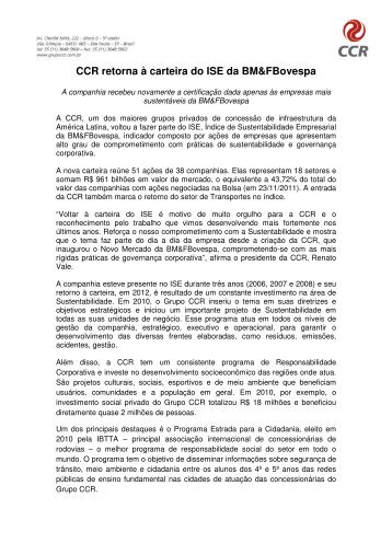 pdf Tamanho - Grupo CCR